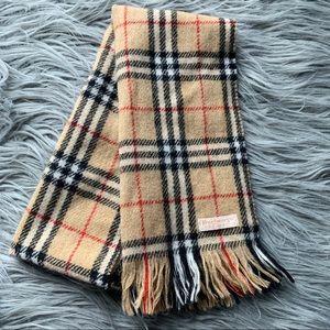 Burberry Classic Plaid Wool Scarf